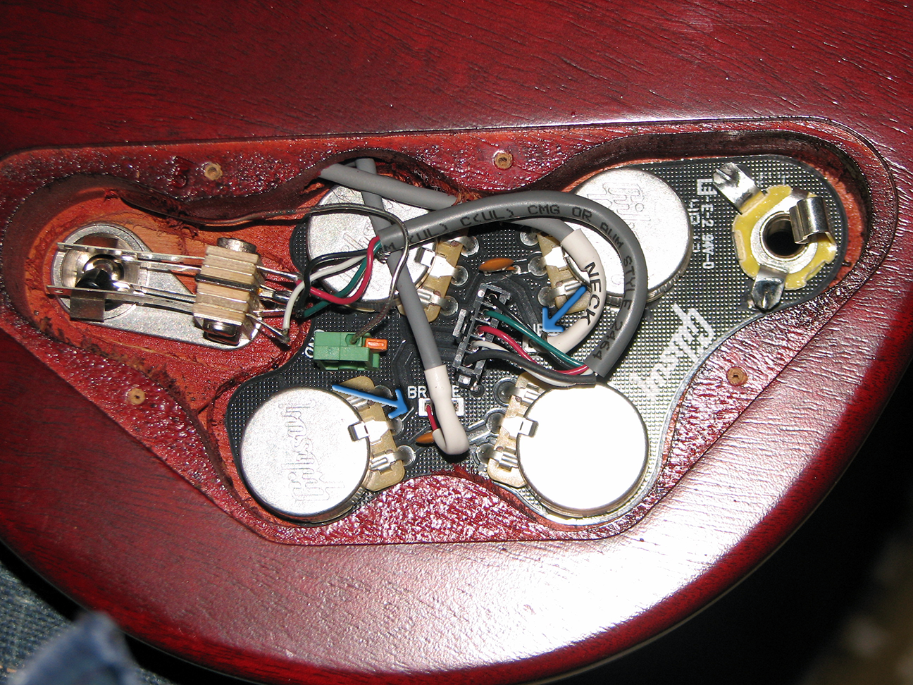 Gibson Sg Wiring Quick Connect Bookmark About Diagram Standard All Connects Not Created Equal Everythingsg Com Rh Tractor Ignition